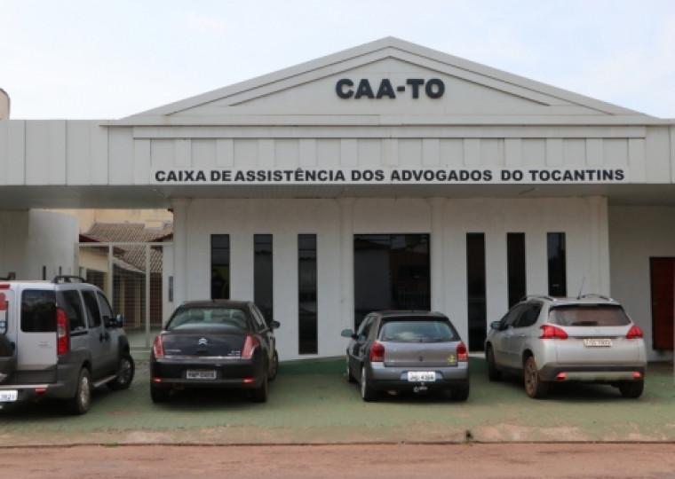 O prédio tem localização privilegiada na área central de Palmas.