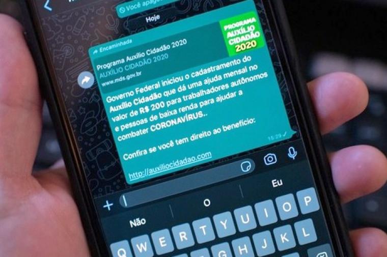 Confira a dica de especialistas para não cair nos golpes aplicados no WhatsApp
