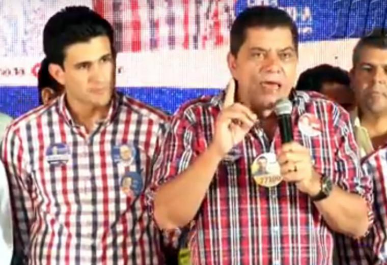 Andrino e Amastha são aliados desde 2012 quando o colombiano foi eleito prefeito da capital