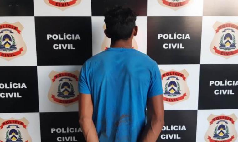 jovem preso