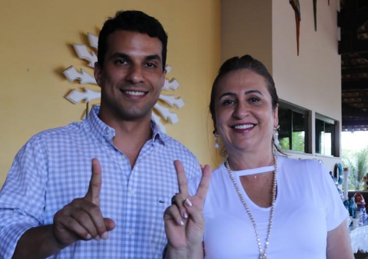 Kátia Abreu e Irajá Abreu no Senado Federal
