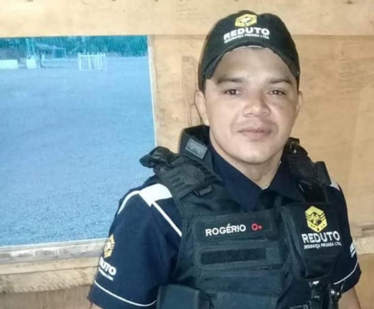 Rogério tinha 39 anos e trabalhava como vigilante