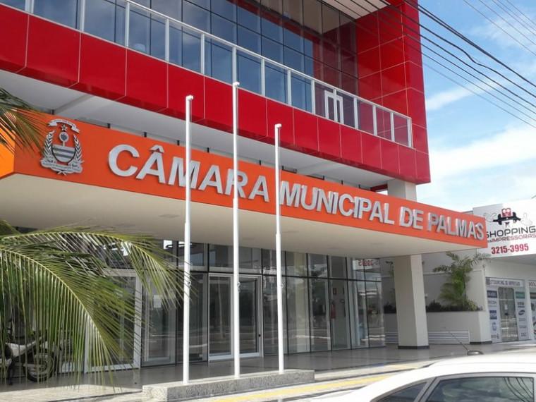 Prédio da Câmara Municipal de Palmas