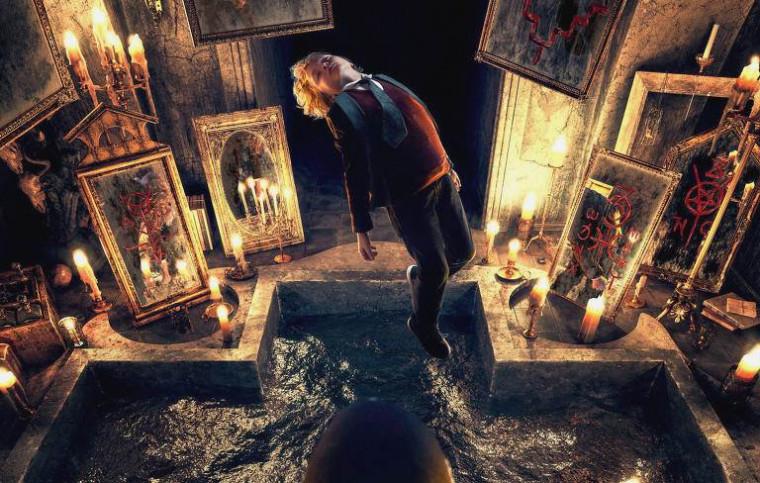 Capa do filme A maldição do espelho