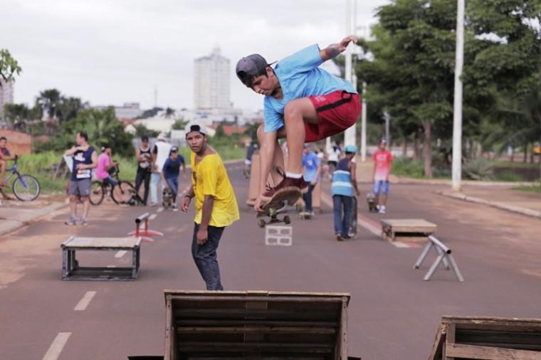 Competição de skate