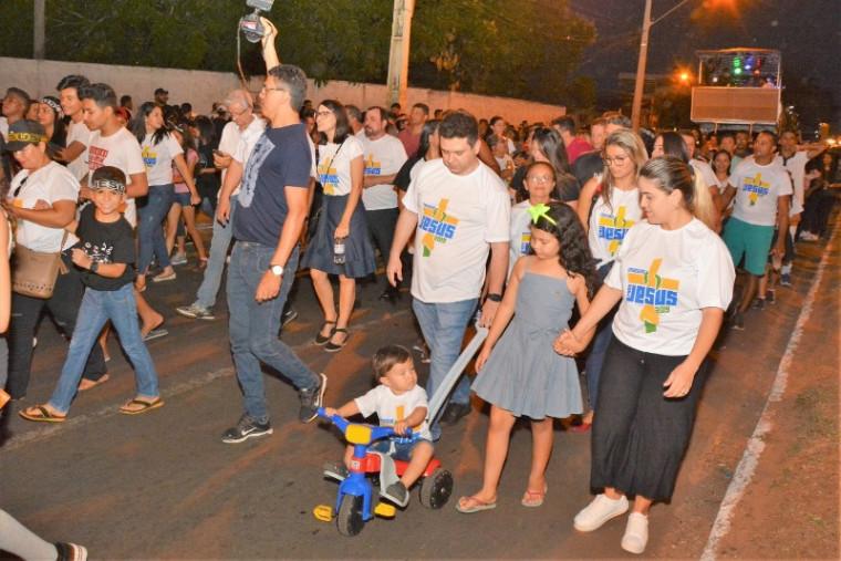 A marcha ocorreu no sábado, 31 de agosto