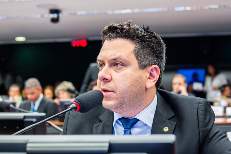 Deputado federal Tiago Dimas (Solidariedade)