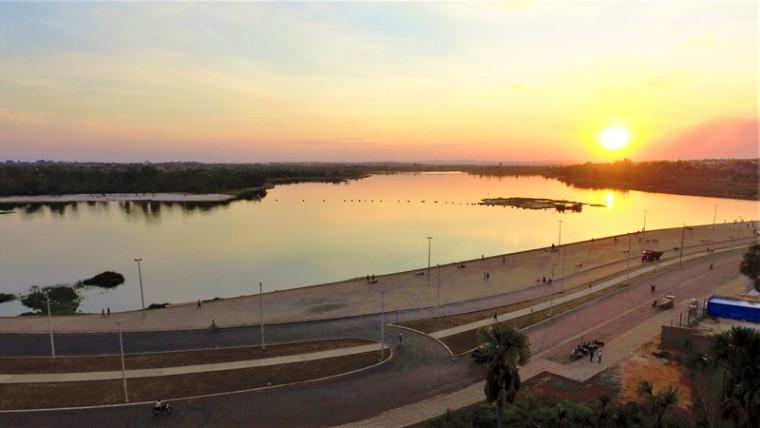 Lago Azul em Araguaína