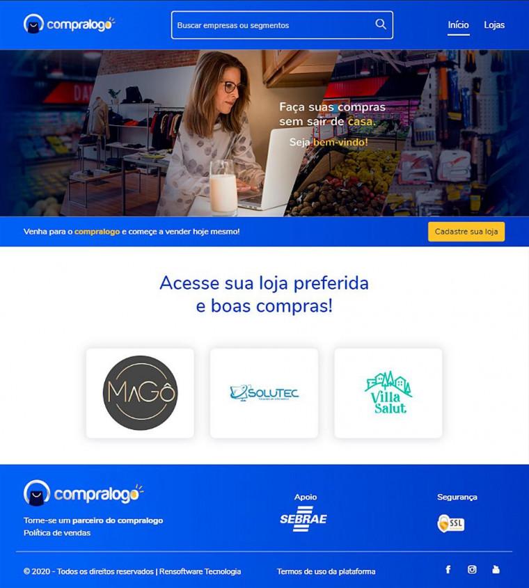 O Compra Logo já está disponível para os consumidores via desktop e app.