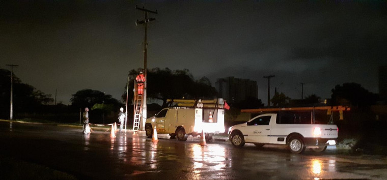 Equipes da Energisa estão trabalhando para atender as emergências