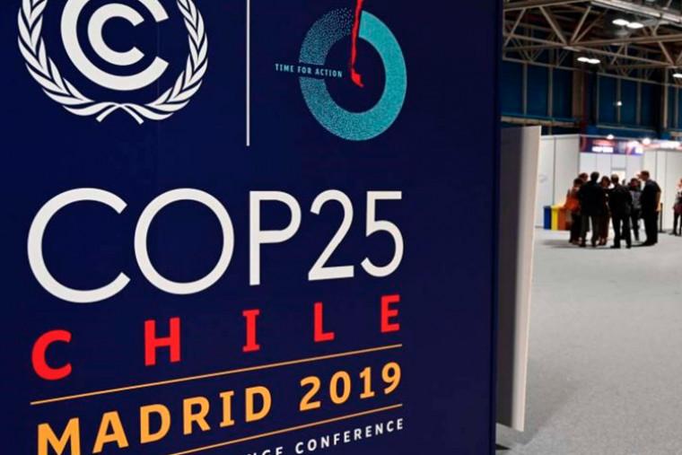 Conferência sobre Mudanças Climáticas (COP 25), em Madrid.