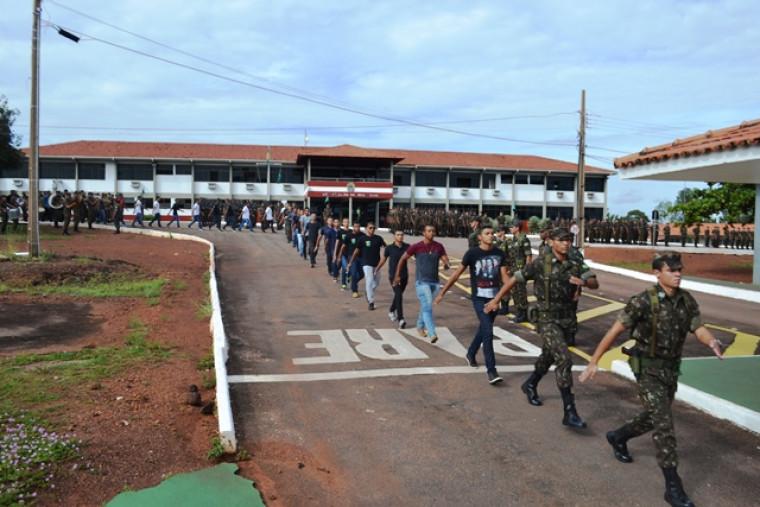 Apresentação obrigatória de reservistas no Tocantins
