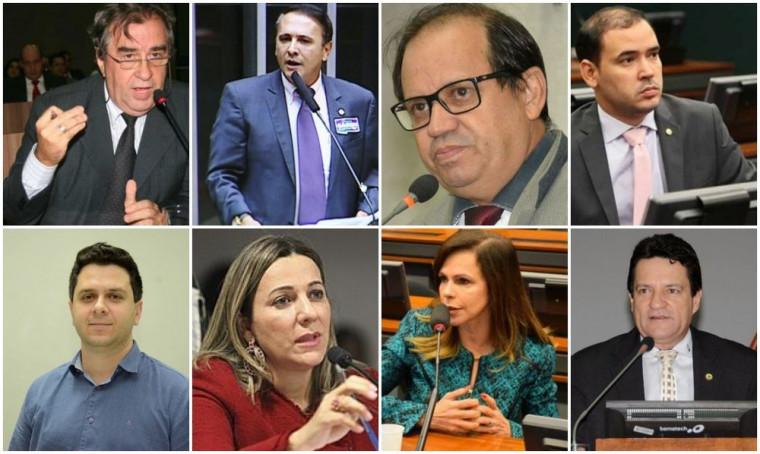 Bancada de deputados federais do Tocantins
