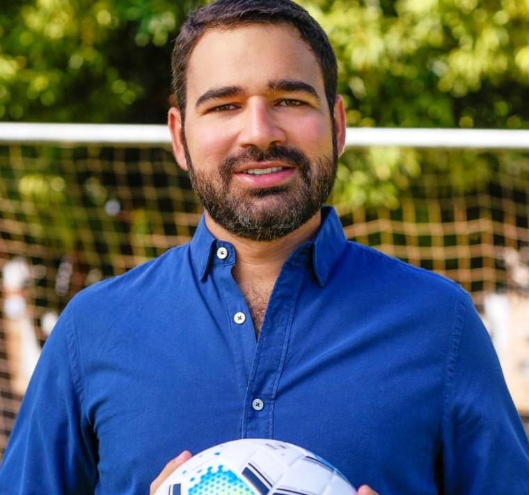 Lucas Meira é empresário goiano dos ramos de comunicação e futebol