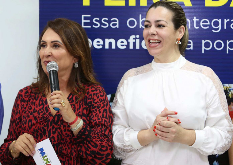 A Senadora questionou a intenção das críticas direcionadas ao trabalho da prefeita durante o evento