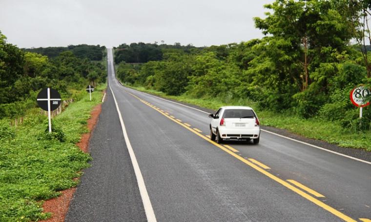 Além de asfalto novo, as vias beneficiadas também ganharam sinalização