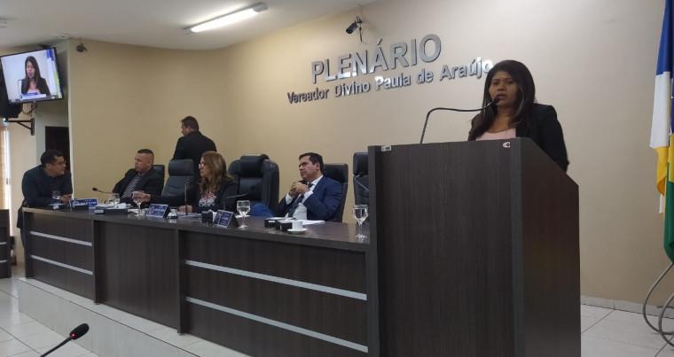 Silvinia Pires na Câmara Municipal