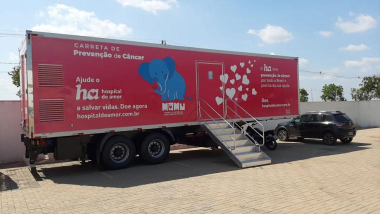 Unidade Móvel será instalada no HMC
