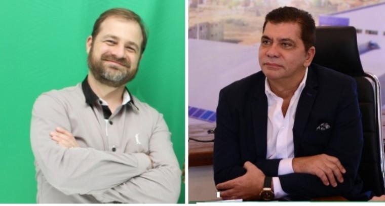 Hugo Mendes (esq.) e Amastha