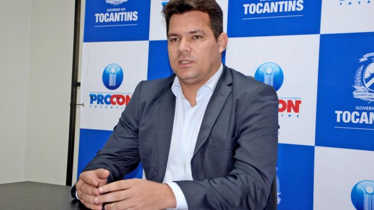 Walter Viana, superintendente do Procon Tocantins