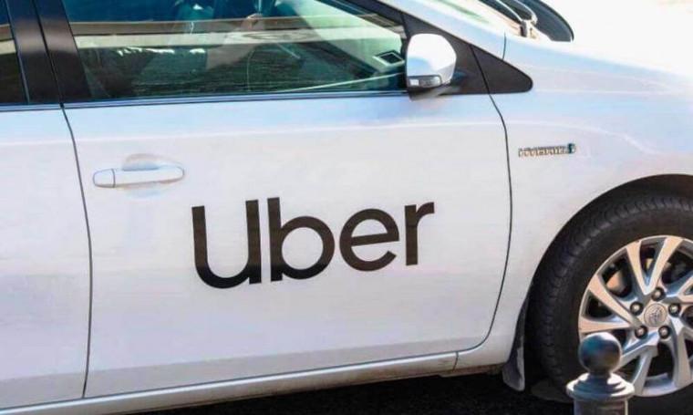 Veículo da Uber