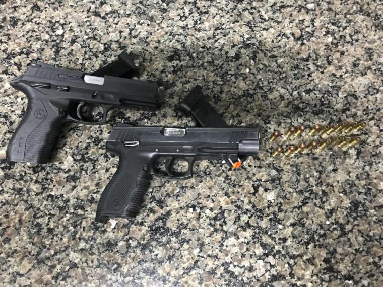 Armas dos policiais penais