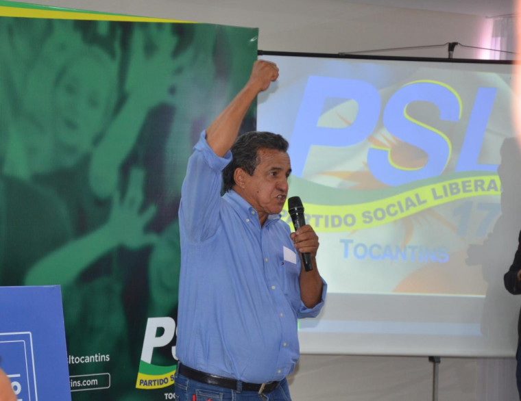 Presidente do PSL Tocantins, Antonio Jorge