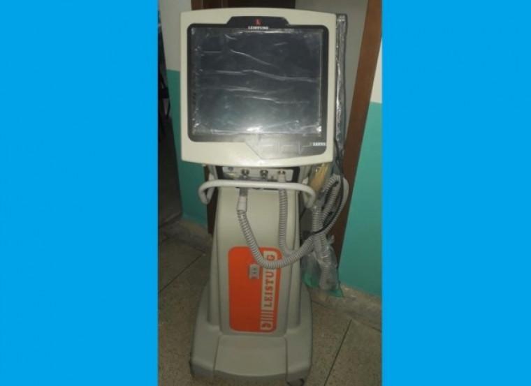 Respirador mecânico nunca foi usado em Ananás