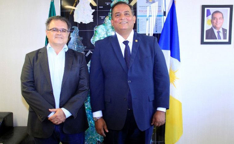 Adriano Rabelo (à esq.) e Eduardo Gomes