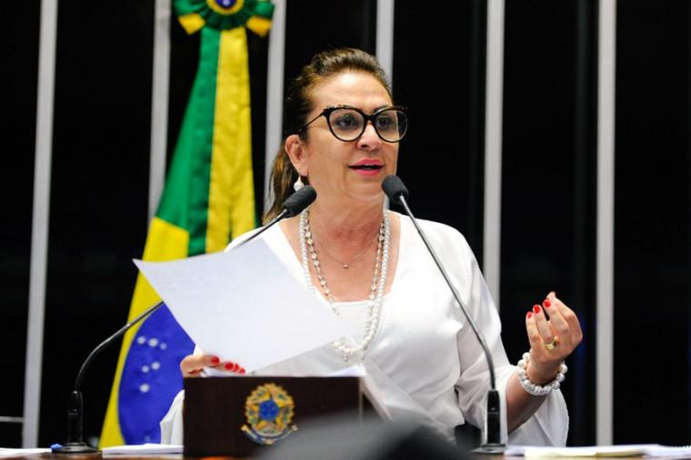 Senadora Kátia Abreu critica Governo por demora na implantação do Hospital de Campanha