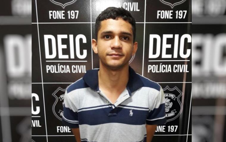 Suspeito foi preso na região de Palmas