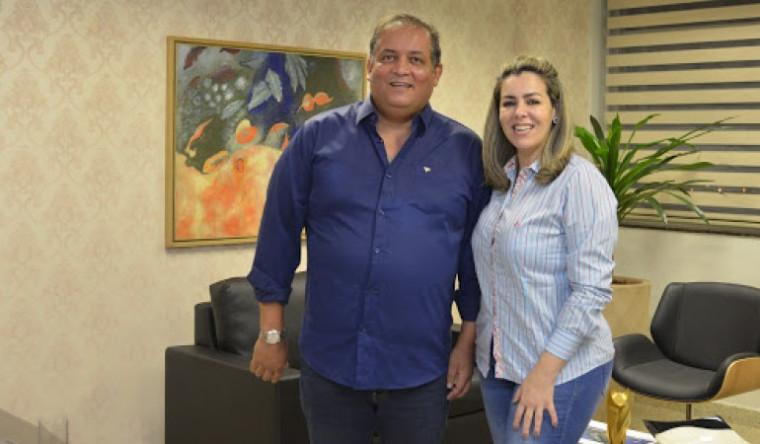 Senador Eduardo Gomes levou o MDB para o barco de Cinthia Ribeiro (PSDB)