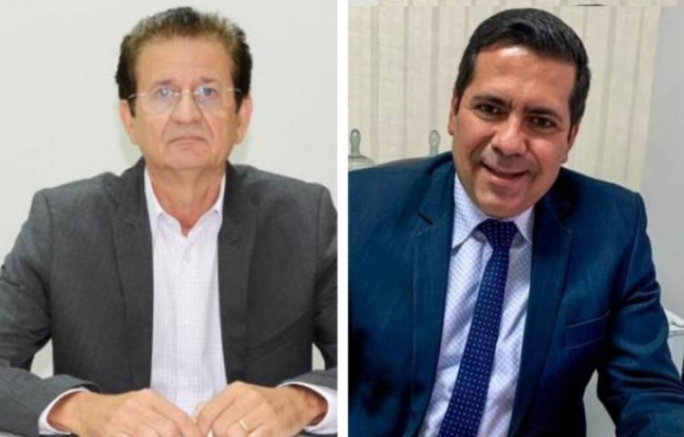 Raimundo Palito (esq.) e Marcus Marcelo