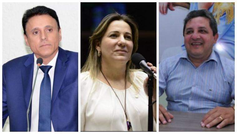 Os três deputados foram eleitos pelo MDB nas eleições de outubro