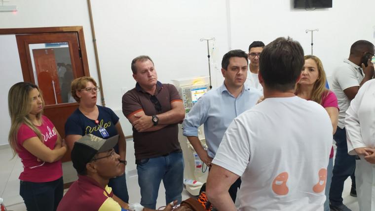 Deputado Tiago Dimas conhece projetos em Palmas