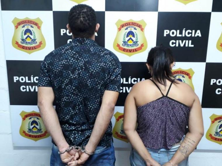 Casal que foi preso