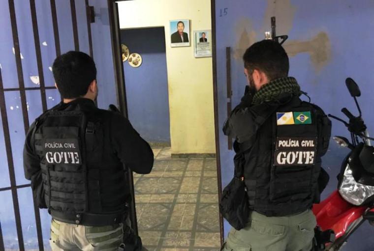 A operação visa prender 10 dos 11 vereadores