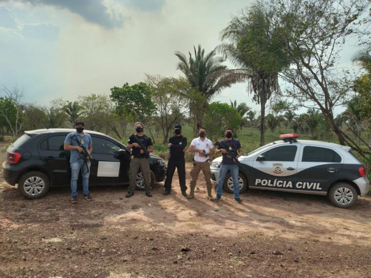 MPE e Polícia Civil fizeram a apreensão