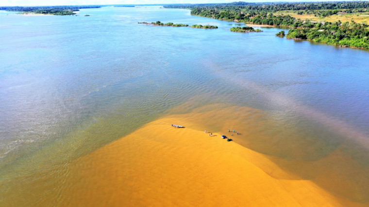 Prefeitura vai demarcar os locais autorizados para uso no Rio Araguaia
