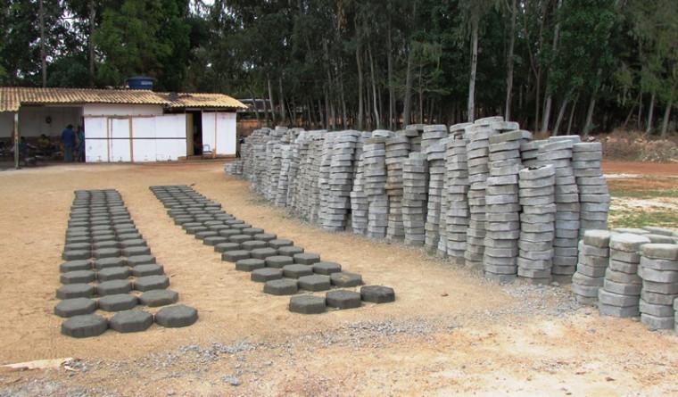 Fábrica de bloquetes em Xambioá