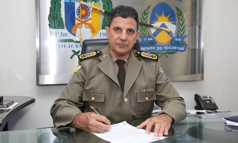Comandante Geral da PM, Coronel Jaizon Veras