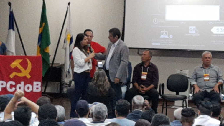 A convenção contou com a presença de centenas de filiados e várias lideranças do PCdoB no Tocantins