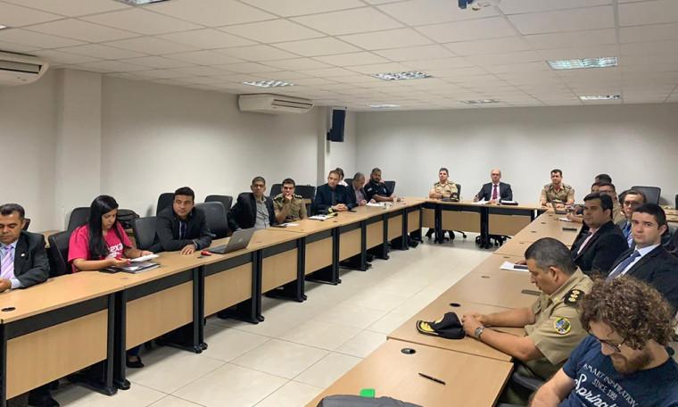 Reunião do Conselho Estadual de Segurança Pública
