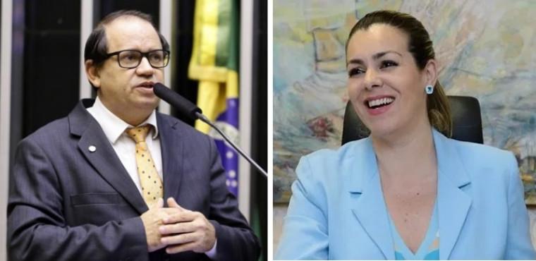Eli Borges e Cinthia Ribeiro