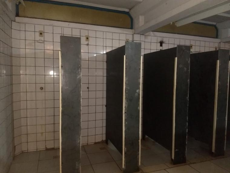 Banheiros com problemas