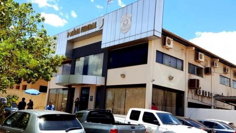 Sede da PF em Palmas