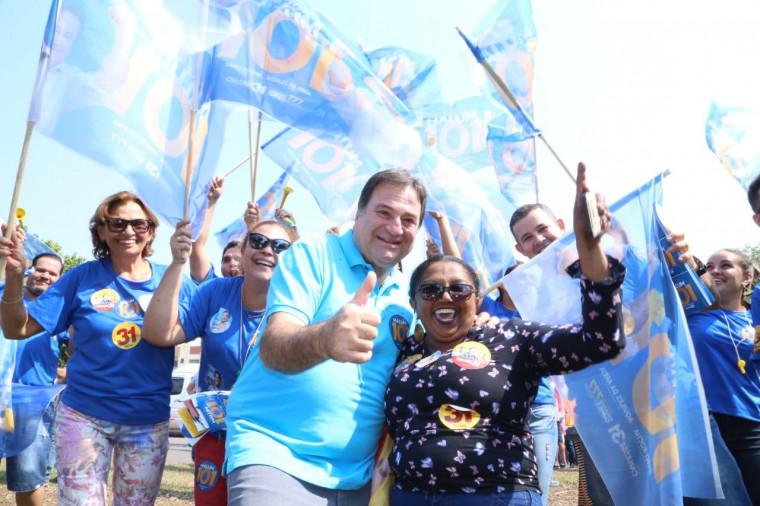 Parlamentares de Araguaína abraçaram a eleição de Halum