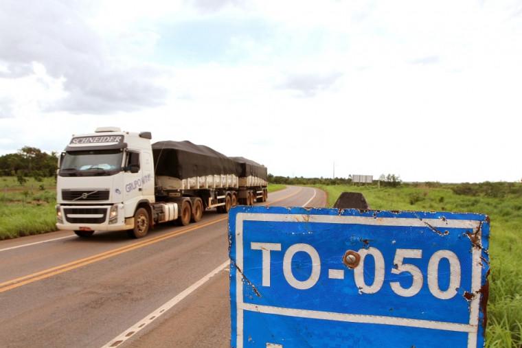 TO-050 é uma rodovia bastante movimentada