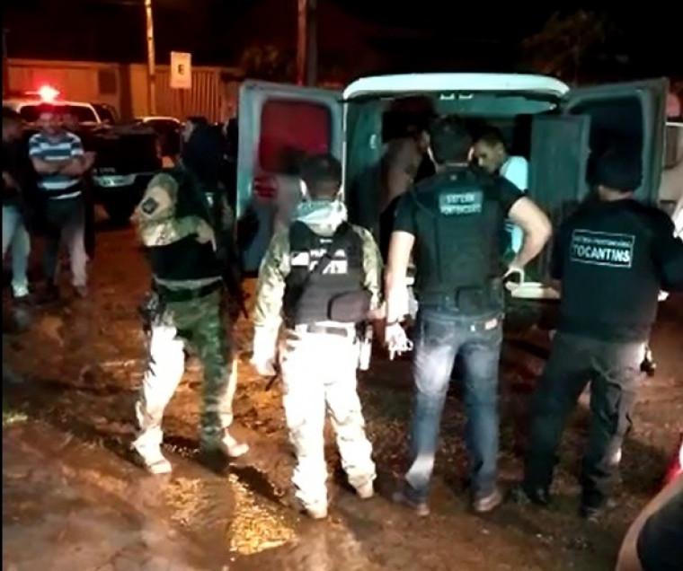 Operação reuniu mais de 100 homens das Forças de Segurança Pública