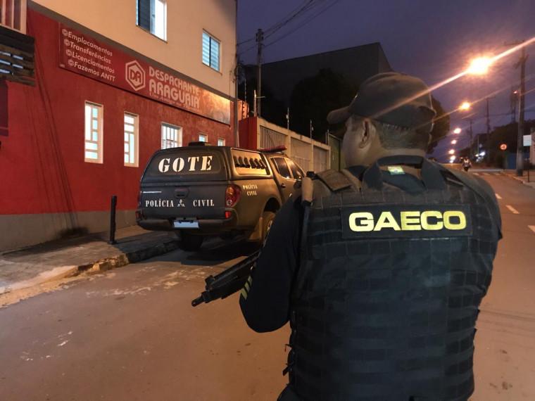 Operação do Gaeco em Araguaína e outras cidades